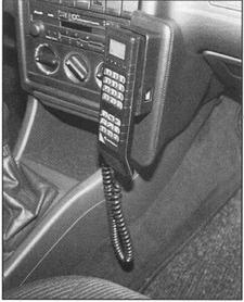 Konsola KUDA pod tel.do Audi 80 od 1986 do 1996 (bez poduszki powietrznej pasażera)