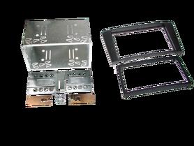 ramka do radia samochodowego niefarbrycznego oyota Avensis (T25) od 2003 do 2009 2 DIN