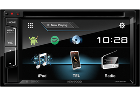 KENWOOD DDX317BT 2-DIN, DVD, Bluetooth, MP3, USB, FLAC Iphone, 6,8'