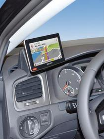 Konsola Kuda pod tel/navi do VW Golf VII od 11/2012