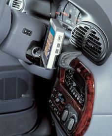Konsola Kuda pod tel/navi Chrysler Voyager od 96