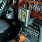 Konsola Kuda pod tel/navi do Jaguar XK8 (X308) 96'-2006