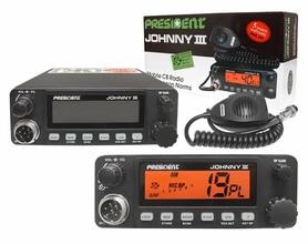 CB Radio PRESIDENT JOHNNY III ASC 12/24V
