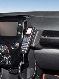Konsola KUDA pod telefon do Citroen C1 od 2014