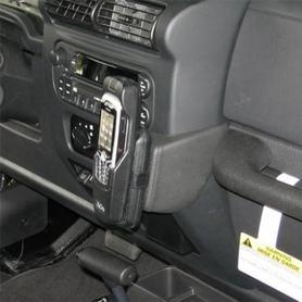Konsola KUDA pod telefon do Jeep Wrangler 2005 - 2007