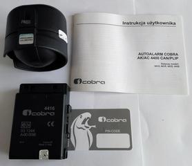Autoalarm samochodowy Cobra  AK4416