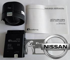 Autoalarm samochodowy Cobra AK4416 do Nissan