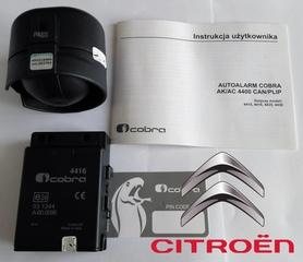 Autoalarm samochodowy Cobra AK4416 do Citroen