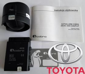 Autoalarm samochodowy Cobra AK4416 do Toyota
