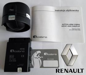Autoalarm samochodowy Cobra AK4416 do Renault