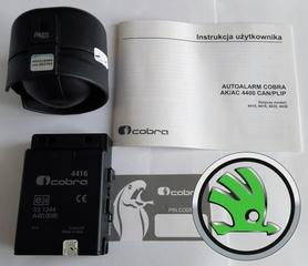 Autoalarm samochodowy Cobra AK4416 do Skoda