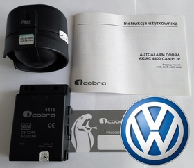 Autoalarm samochodowy Cobra AK4416 do VW