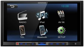 KENWOOD DMX100BT 2-DIN, Bluetooth, MP3, USB, MPEG4, Iphone, 6,8'