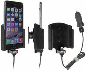 Uchwyt do Apple iPhone 7 z wbudowanym kablem USB oraz ładowarką samochodową