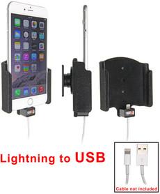 Uchwyt do Apple iPhone 7 Plus z możliwością wpięcia kabla lightning USB