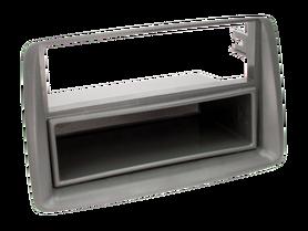ramka do radia samochodowego niefarbrycznego Fiat Panda od 2003 2 ISO czarny z półką