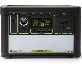 Goal Zero Yeti 400 Lithium (230V) EU universal version przenośna stacja energii Li-ion NMC, solarny generator. agregat prądotwórczy