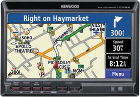 Kenwood LZ-702IR 6.95' Monitor LCD montowany w zagłówku