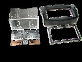 ramka do radia samochodowego niefarbrycznego Toyota RAV4 od 2006 2 DIN czarny zestaw