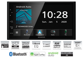 Kenwood DMX5020BTS z Android Auto i CarPlay+ Bluetooth