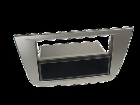 ramka do radia samochodowego niefarbrycznego Seat Altea Toledo od 2004 2 ISO antracyt z półką