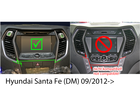 Ramka radia Hyundai Santa Fe (DM) od 2012 2 DIN czarny (2)