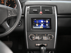 Ramka radia Mercedes A-Class W169 B-Class T245 Vito W639 2 DIN czarny zestaw (2)